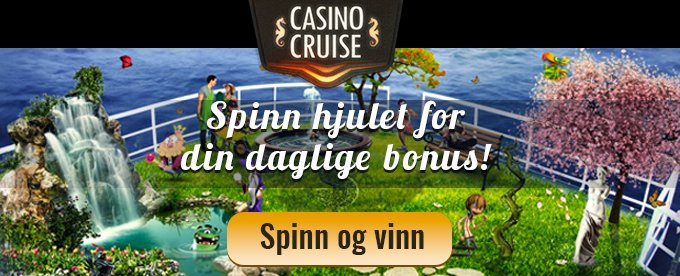 Vinn 5000€ i CasinoCruise sitt lotteri!