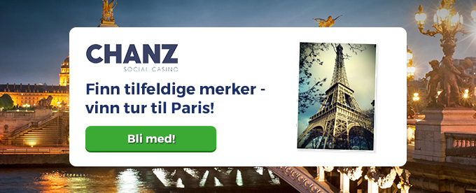 Vinn reise til Paris med Chanz casino!