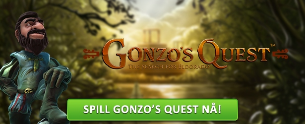 Spill Gonzo's Quest hos Casumo