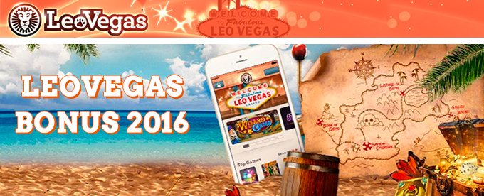 LeoVegas Casino - hele Norges mobile casino!