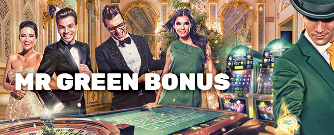 Velkomstbonus hos Mr Green