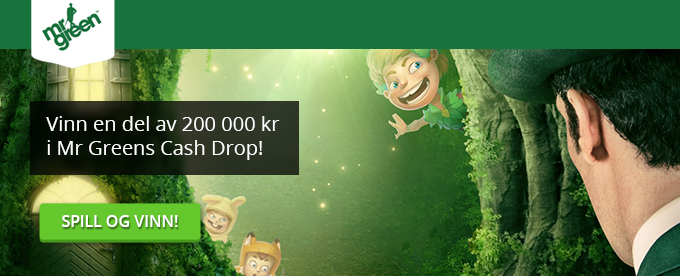 Vinn stort i Mr Greens Cash Drop!