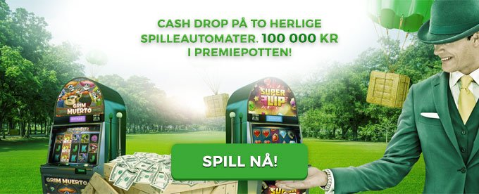 Mr Green lodder ut 100 000 kr