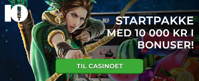 10Bet sports betting med casino og Games!