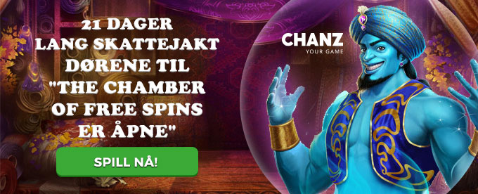 Samle gratis vinnersjanser i The Chamber of Free Spins