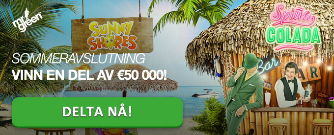 Vinn en del av €50 000 hos Mr Green