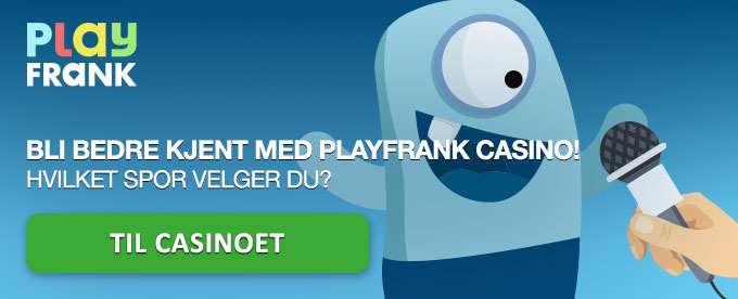 Eksklusivt intervju med PlayFrank Casino