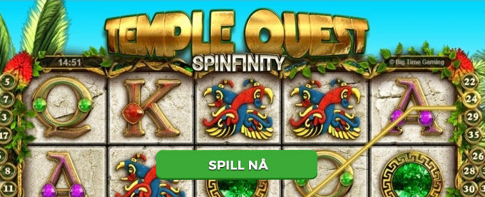 Spill Temple Quest Spinfinity av Big Time Gaming