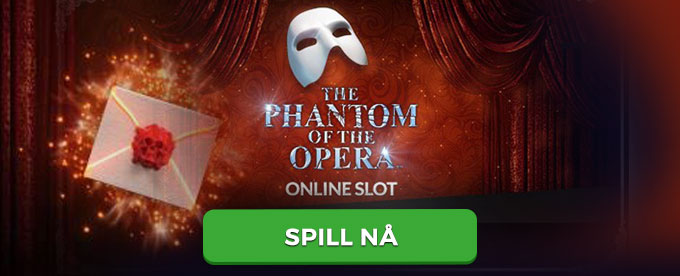 Prøv spilleautomaten The Phantom of the Opera av Microgaming