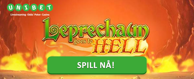 Vinn progressive jackpoter i Leprechaun Goes to Hell