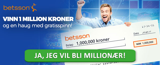 Kampanje med 1 million og 50 000 gratisspinn i potten
